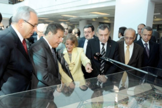 Inauguration of Zewail City by the Prime Minister and some members of the Cabinet on November 1, 2011